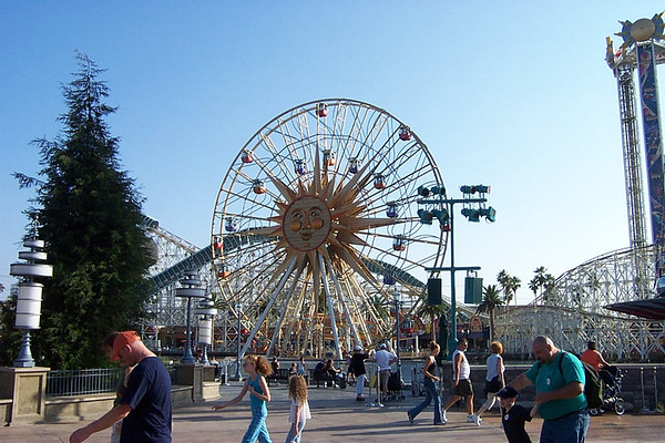 Disneyland & California
